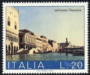 Francobollo Salviamo Venezia