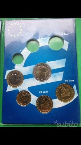Monete Euro ordinarie fior di conio