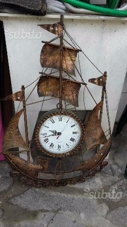 Orologio rame da muro