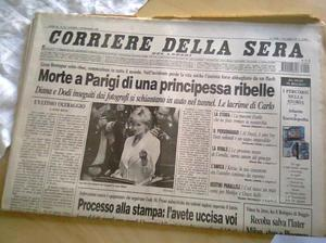 Quotidiani Corriere della Sera e Il Giornale