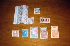 francobolli e marche da bollo
