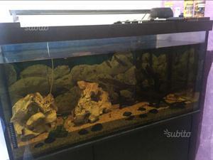 acquario akvastabil 500 litri con mobile posot class