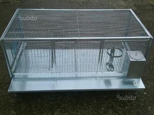 Gabbia per conigli 1 nido