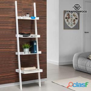 Scaffale da parete con inclinazione craftenwood (4 ripiani)