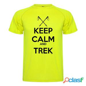 T-shirts tecniche manica corta Kruskis Keep Calm And Trek