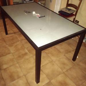 Tavolo in legno da giardino ikea bologna posot class - Tavolo ikea vetro ...