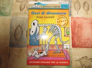Libro per bambini: Ossi di dinosauro