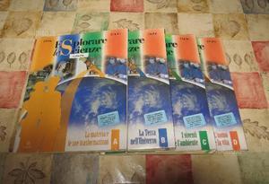 Libro scolastico: Esplorare le scienze A B C D