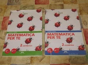 Libro scolastico: Matematica per te 2
