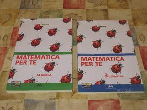 Libro scolastico: Matematica per te 3