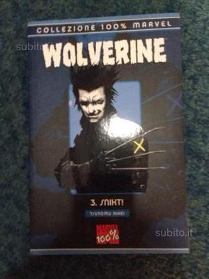 Manga Wolverine collezione 100% Marvel Niehi