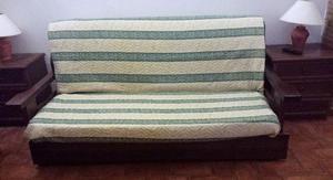 Divano in legno stile country posot class - Divano letto stile country ...