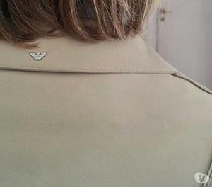 Giacca per donna in pelle armani originale