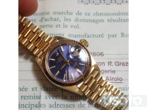 Rolex datejust lady in oro 18 kt