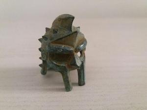 ELMO gladiatore bronzo
