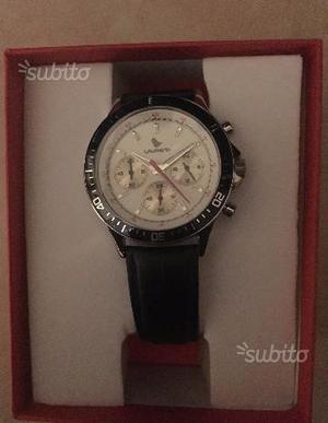 Elegante orologio da polso - cinturino in pel