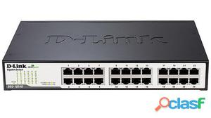 Network switch 24 porte 10/100/1000mbps desktop/rackmount