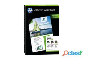 Nuovo CH081AE Hp Inc Ch081aeink Value Pack + A4 Paper