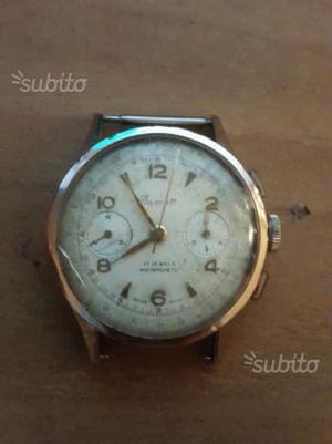 Orologio Cronografo Barrett in oro da revisionare