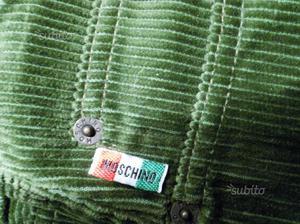 Pantaloni in velluto marca Moschino