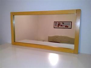 Specchio con cornice cm 86 x 44 pari al NUOVO