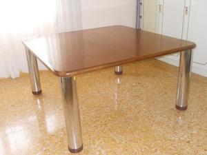 Tavolo in faggio 140x140 con piano in posot class for Tavolo 140x140