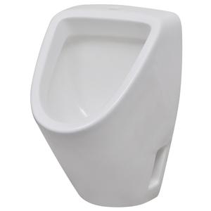 vidaXL Orinatoio sospeso da parete in ceramica bianca