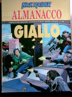 Almanacco giallo, Nick Raider/ Julia (Bonelli)