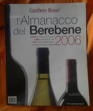 Gambero Rosso  - Almanacco del bere bene