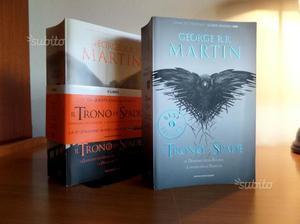 Il Trono di Spade - libri Mondadori - volumi 4 e 5