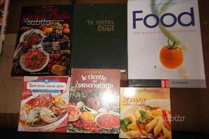 Libri di ricette di cucina e alimentazione