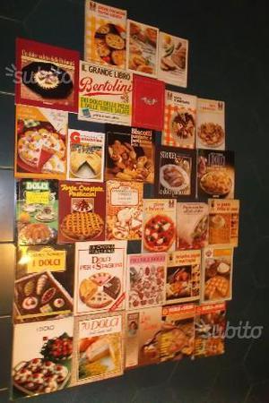 Libri di ricette di pasticceria pasta pane pizza
