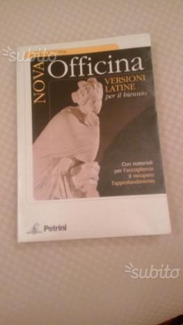 Libro Nova Officina ISBN