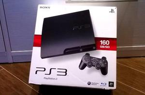 PS3 slim 160 gb come