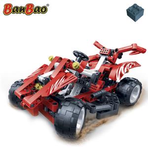 BanBao Macchina da Corsa Red Racer