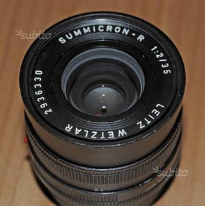 Leica R Leitz summicron 35 f2 secondo tipo