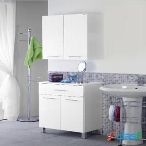 Mobile bagno tradizionale laccato bianco  Posot Class