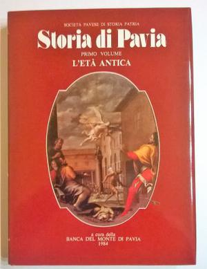 STORIA DI PAVIA - 1° volume