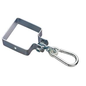 Swing King  Ancoraggio quadrato con gancio 90x90x3 mm