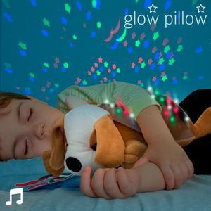 Cagnolino Con Suono E Proiettore Led Glow Pillow