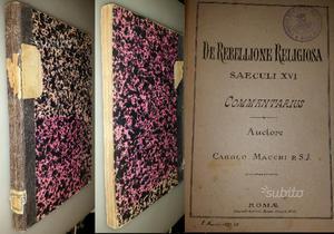 De rebellione religiosa, Saeculi XVI, Carolo Macch