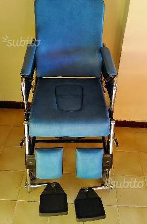 Sedia a rotelle comoda marca surace con wc