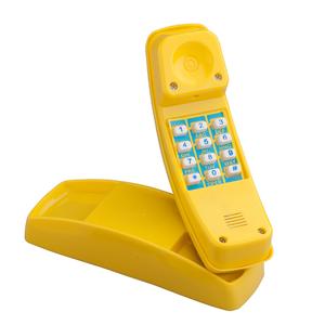 Swing King  Telefono di plastica giallo