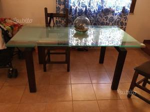 4 piedi in legno per tavolo posot class - Piedi per tavolo in legno ...