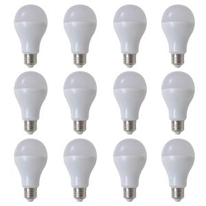 vidaXL Lampadine LED Luce bianca calda 12 pezzi 9 W E27
