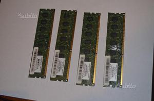 4 slot di memoria ram GDDR per PC da 2 GB