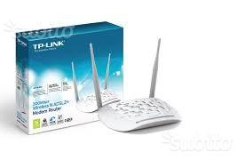 Modem tp link td-wn 300mbps adsl/2 nuovo
