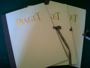 PIAGET 3 stampe