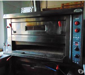 Forno elettrico per pizza in pietra lavica posot class - Pietra refrattaria da forno per pizza ...