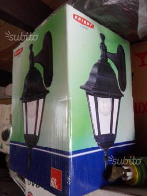 Lampade per esterno nuove